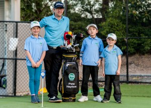 school holiday golf