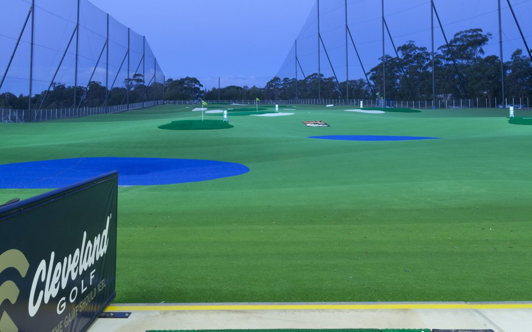 Night Golf Driving Range